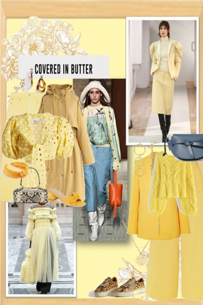 office party-fall trend-butter yellow