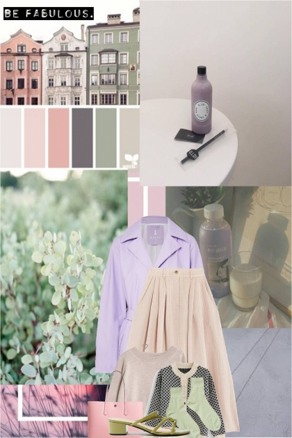 soft pastel purple