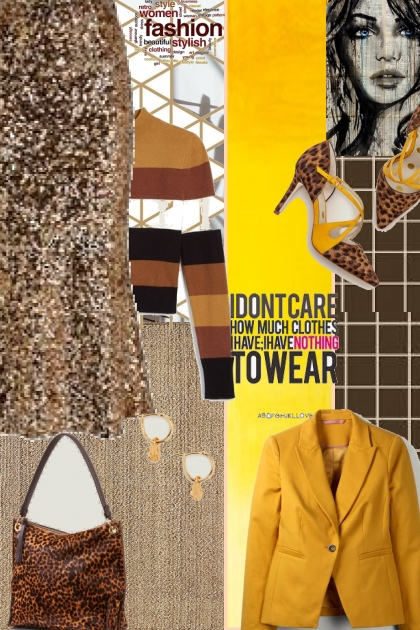 spring and sparkle- Combinaciónde moda