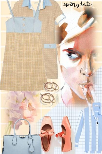 pretty spring- Combinaciónde moda