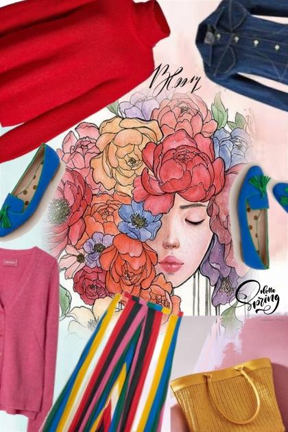 colour explosion- Combinaciónde moda