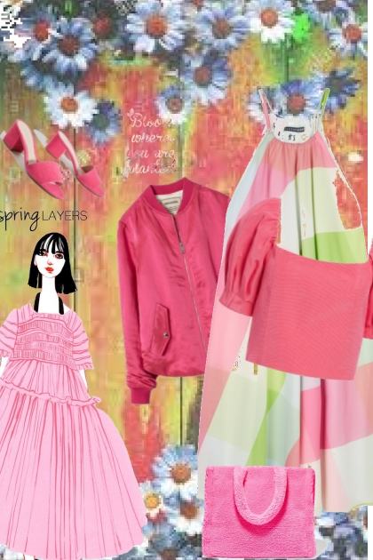 spring with Alexa, Alice and Olivia
