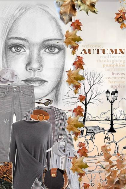 autumn leaves are fallin'
