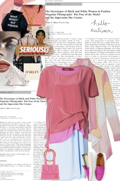 T-shirt dress- Fashion set