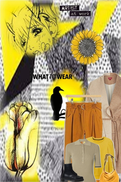 sunflower into fall- Fashion set