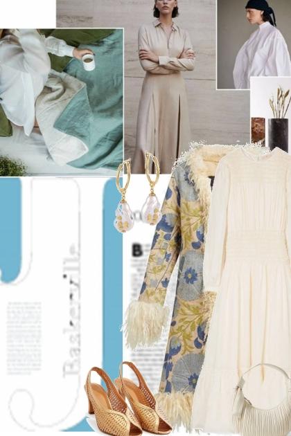 vintage inspired elegance- Fashion set