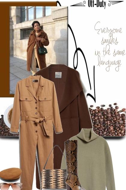 coffee and chat- Модное сочетание