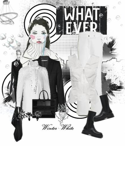 high contrast 3- Fashion set