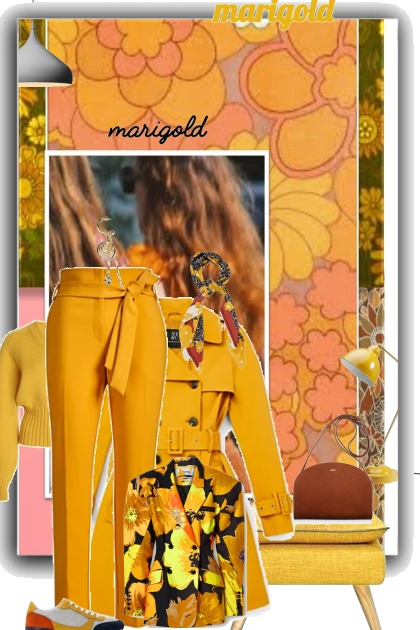 marigold- Fashion set