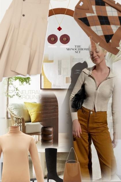 Monochrome matters 2- Fashion set