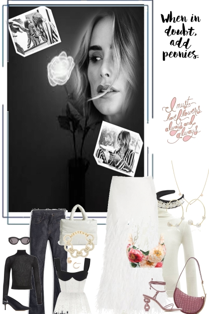 the heart of a rose- Fashion set
