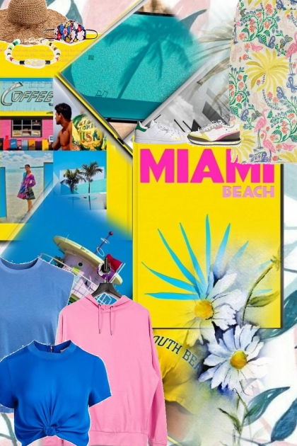 the colours of Miami for spring