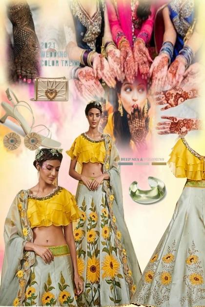 Indian wedding- mehendi