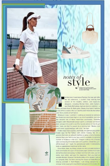 tennis style 2021