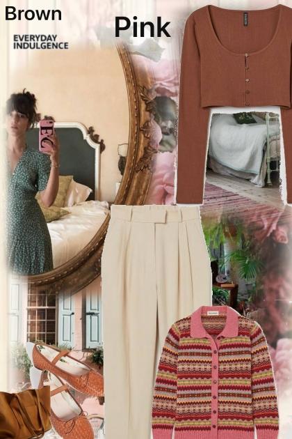 brown pink #1