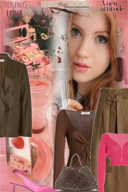 brown pink #3
