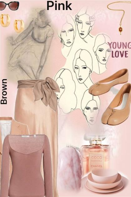 brown pink #4