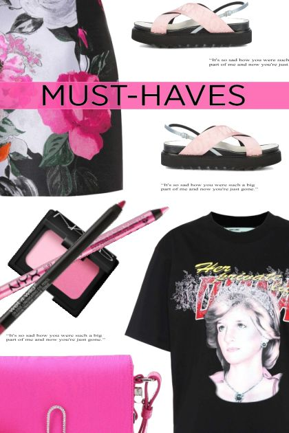 Black & Pink Must Haves