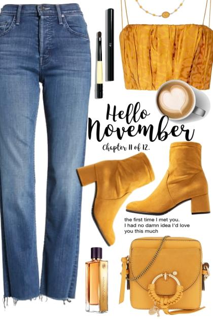 Hello November!- 搭配