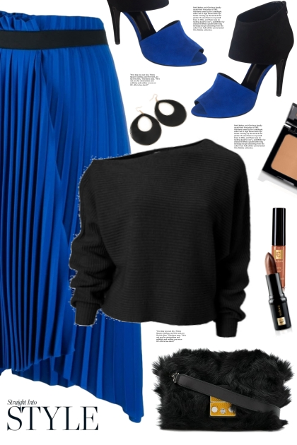 Blue & Black!