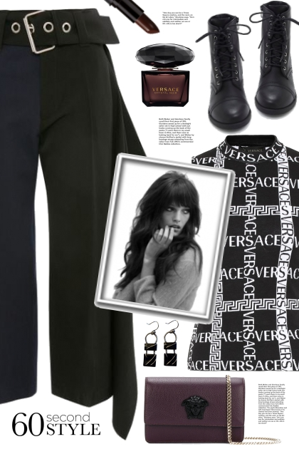 Versace Top!- Fashion set