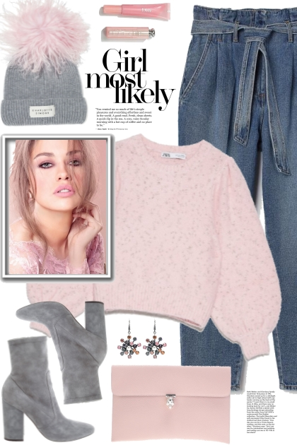 Pink Sweater!- Modna kombinacija