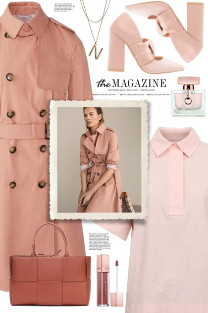 Pink Trench Coat!
