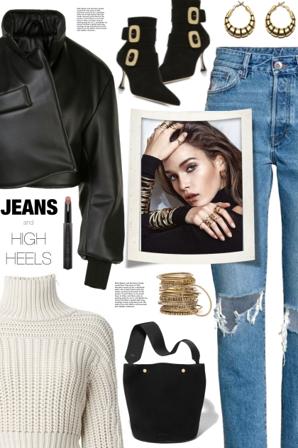 Jeans And High Heels!