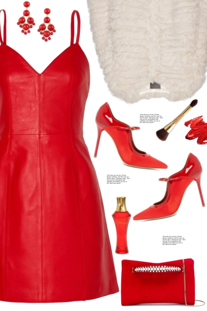 Red Christmas Dress!