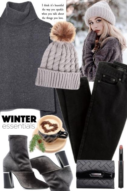 Winter Essentials! - Modekombination