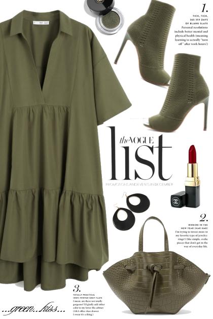 Green Mango Dress!