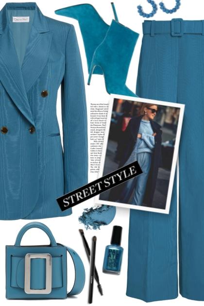 Moire Suit!- Fashion set