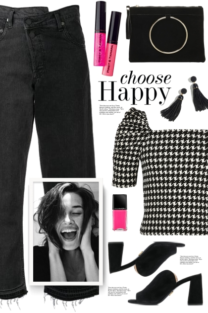 Houndstooth Blouse!