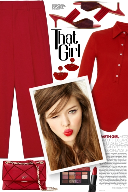 That Girl In Red!