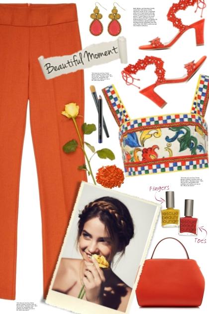 Dolce Gabbana Print Top!