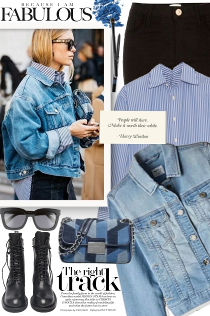 Denim Jacket Street Style!