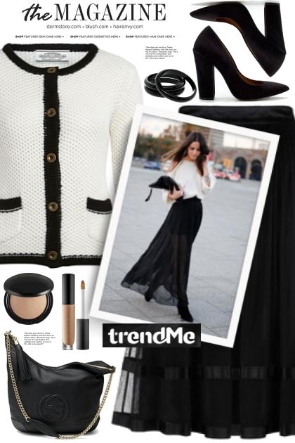 Black Tulle Skirt!
