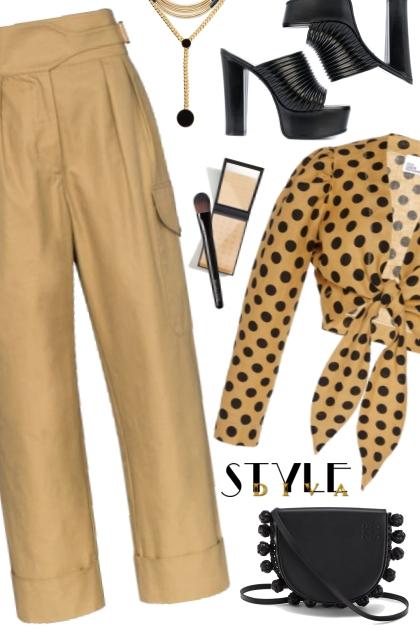 Chloe High Waisted Pants!- Modekombination