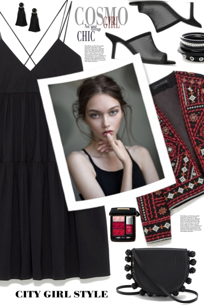Zara Tiered Dress!- Modekombination