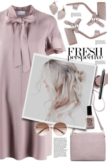Valentino Lilac Dress!