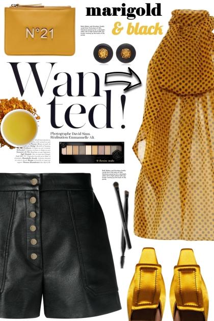 Marigold & Black!