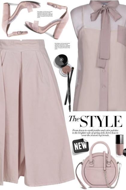 Lavender Monochrome Style!