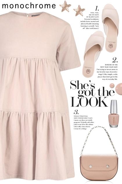 Pink Tiered Dress!