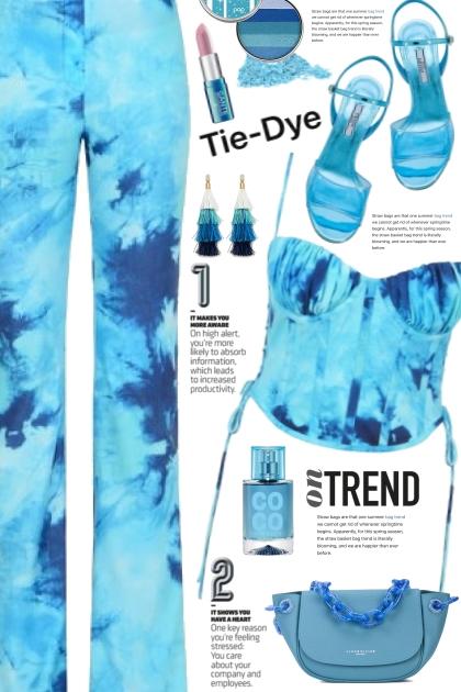 Blue Tie Dye Set!