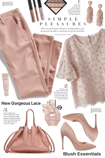 Blush Pink Lace Top!