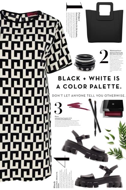 Boohoo Geometric Print Dress!