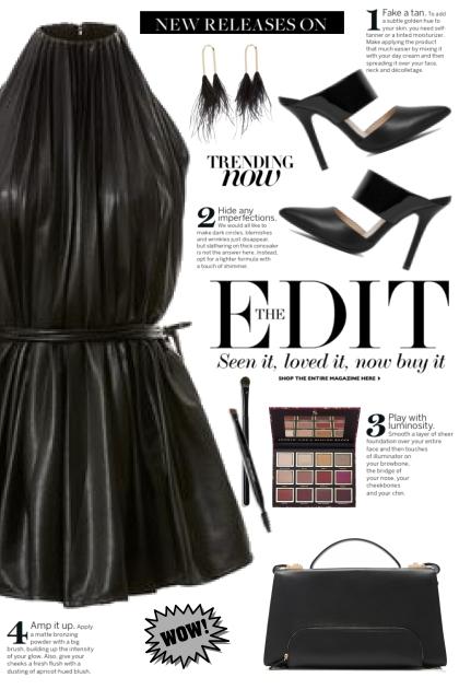 Leather Mini Dress!