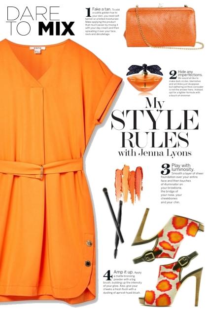 Orange Tunic Dress!