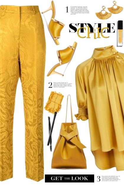 Marigold Style Chic!