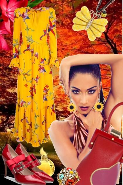 Friskt til høsten- Модное сочетание